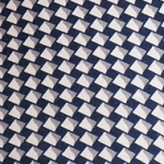 Navy-Beige Geometric (B19)