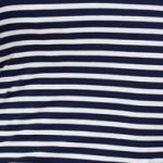 Navy White Stripe (034)