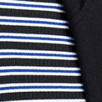 Sax-Ecru-Black Stripe (031)